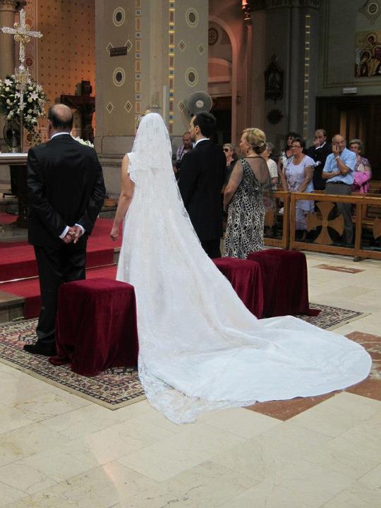 Peinados de novia para llevar mantilla