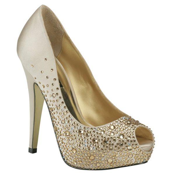 Zapato de Novia Salvador Gold