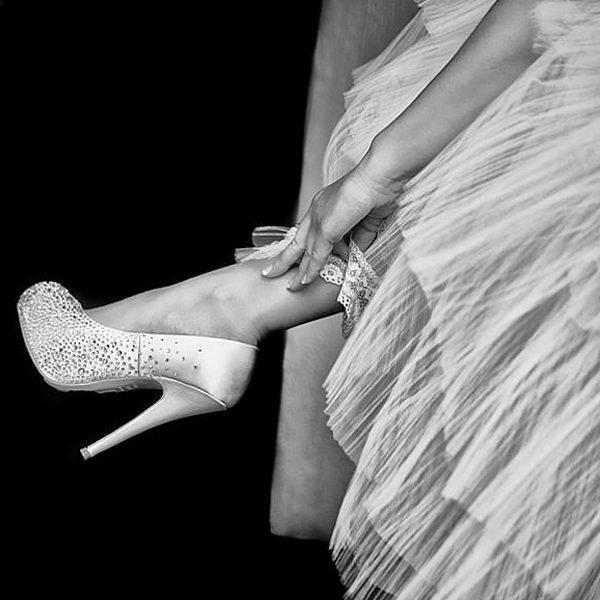 Zapatos de Novia Salvador Oro