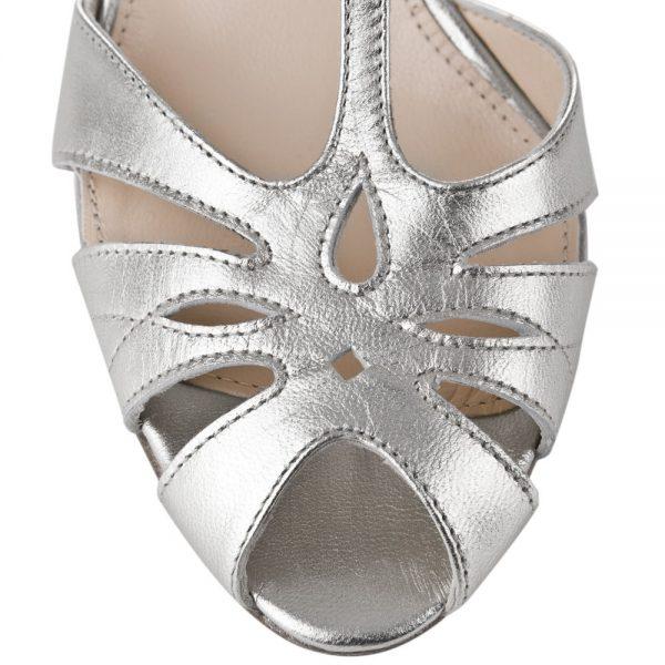 Sandalias de Novia Ginger Silver