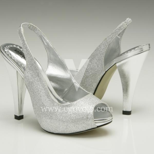 70689631 Zapatos de Novia plateados - EGOVOLO
