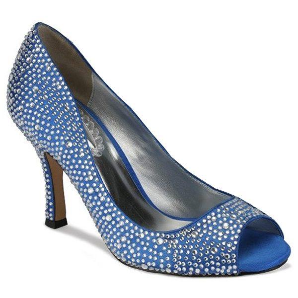 Zapatos de Novia Celebrate Azul