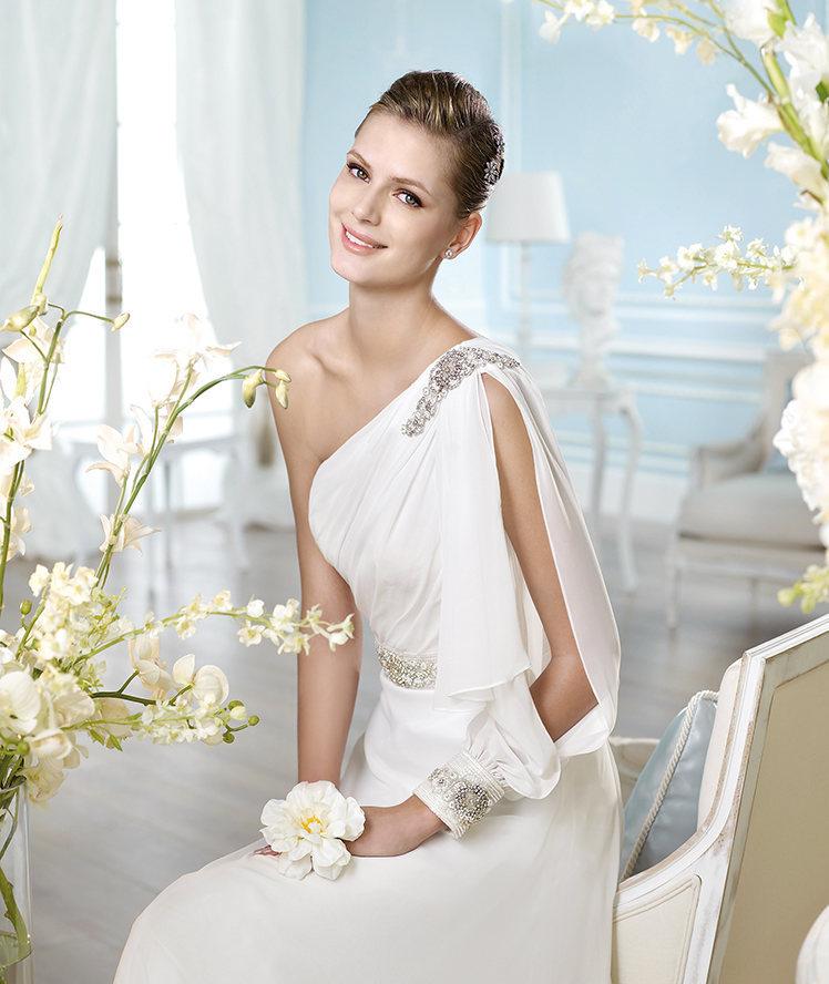 un look de novia con aires romanos - egovolo