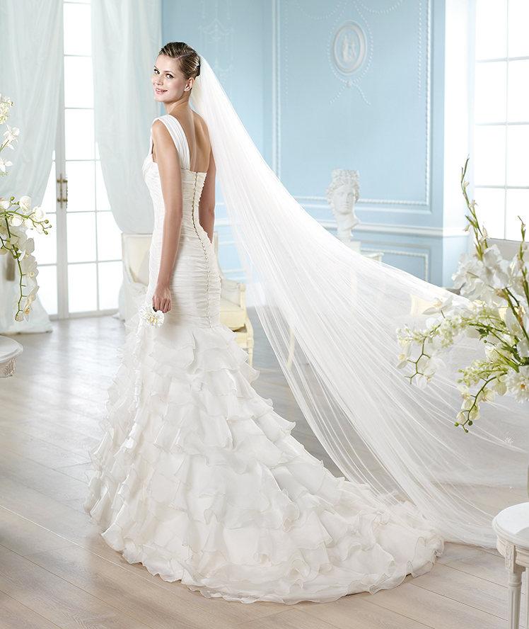 un look de novia muy andaluz con el modelo edimburgo de san patrick