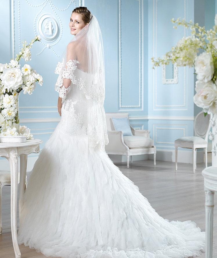 a1d99e220c Look de novia con el vestido Hangg de St. Patrick - EGOVOLO