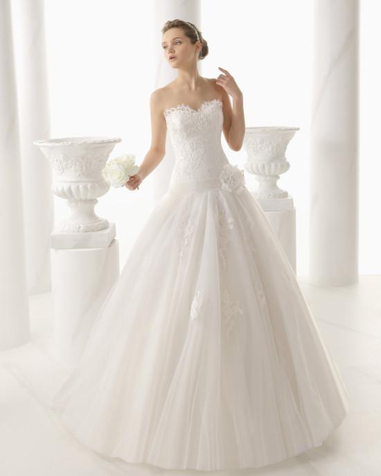 look de novia con el vestido natacha de alma novia - egovolo