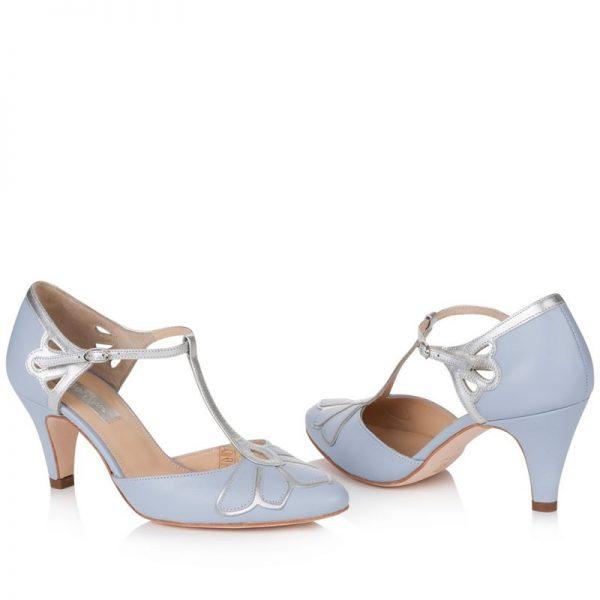 Zapatos de Novia Gardenia Azul