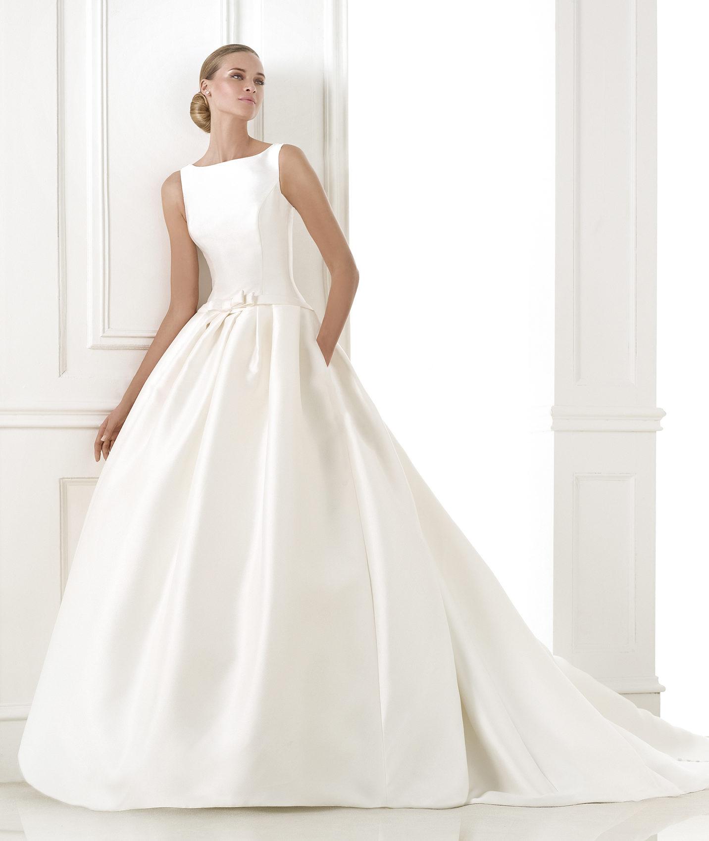 Zapatos de novia para vestido princesa