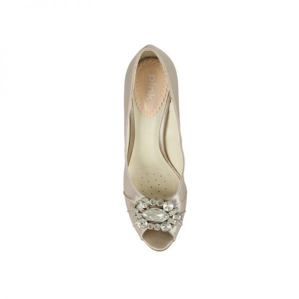 Zapatos de Novia Tender Visón