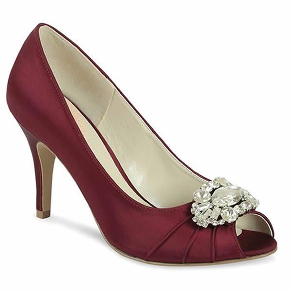 Zapatos de fiesta Tender Granate