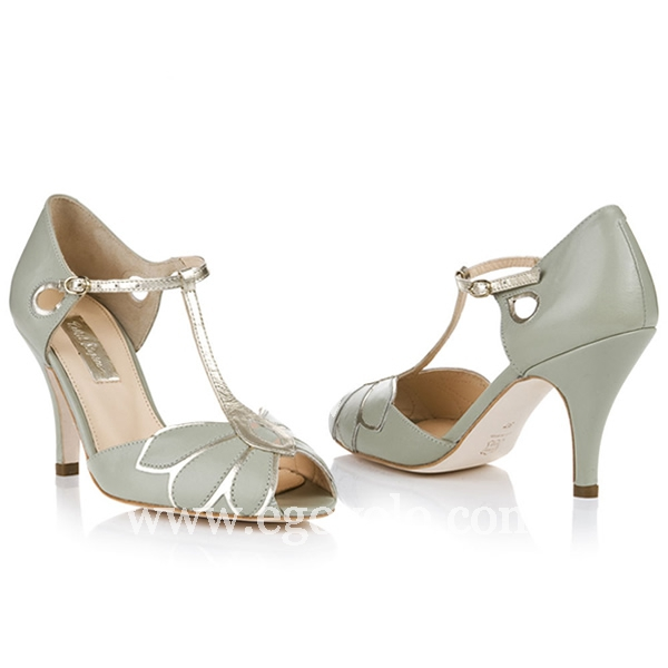 zapatos de novia dorados - egovolo