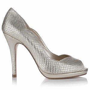 Zapatos de Novia Leonie Oro