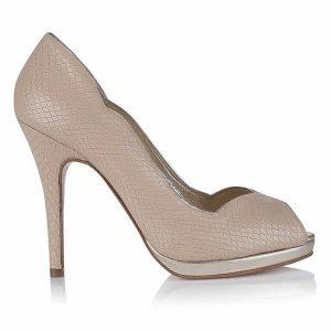 Zapatos de Novia Leonie Nude