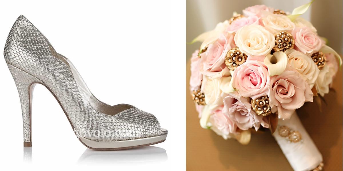 zapatos de novia de color - egovolo