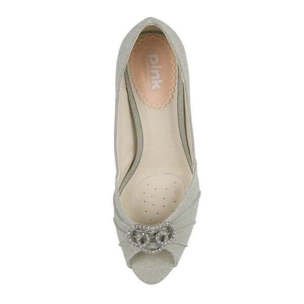 Zapatos de Novia Lavish Platino