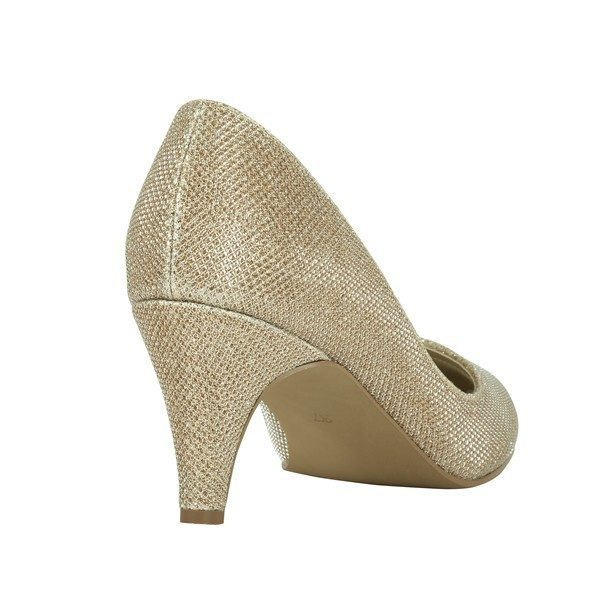 Zapatos de Novia Afection Oro