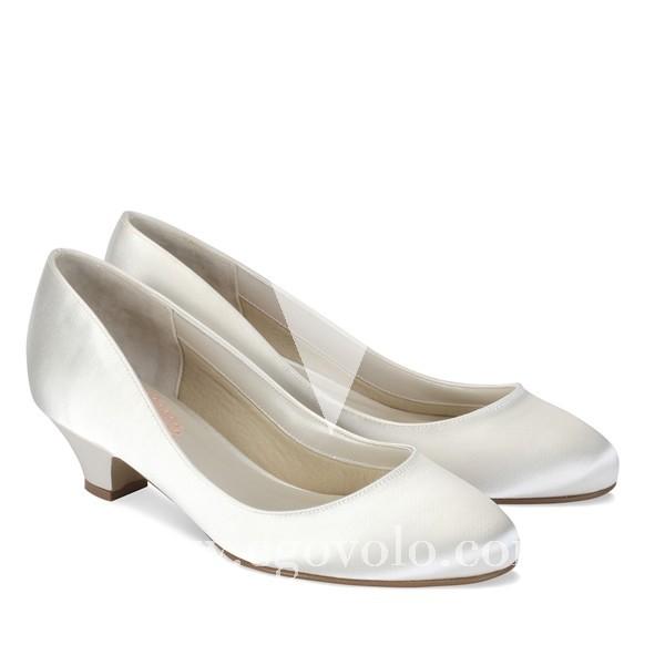 zapatos de novia con poco tacón - egovolo