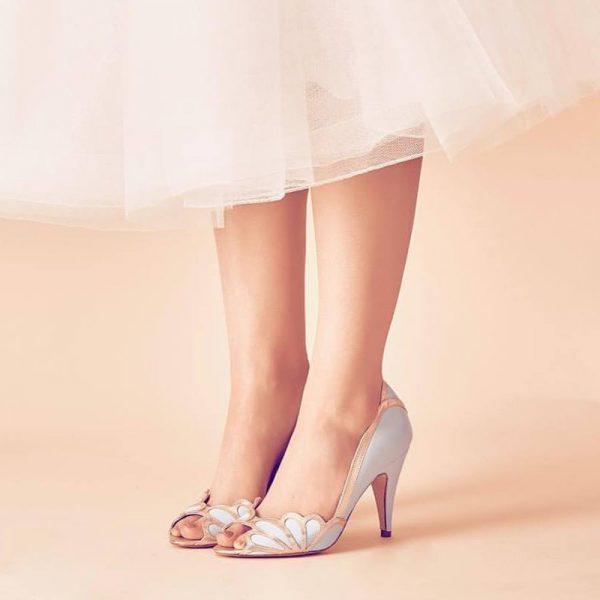 Zapatos de Novia Isabelle Azul