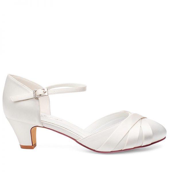Zapatos de Novia Blanca