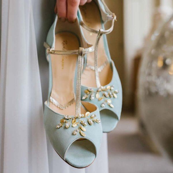 Zapatos de Novia Amalia Mint