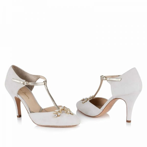 Zapatos de Novia Ana Ivory