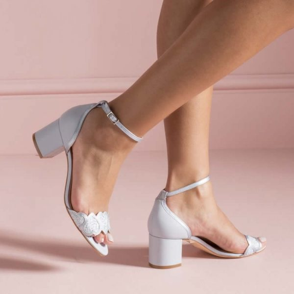 Zapatos de Novia Esmeralda Blue