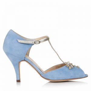 Zapatos de Novia Amalia Azul