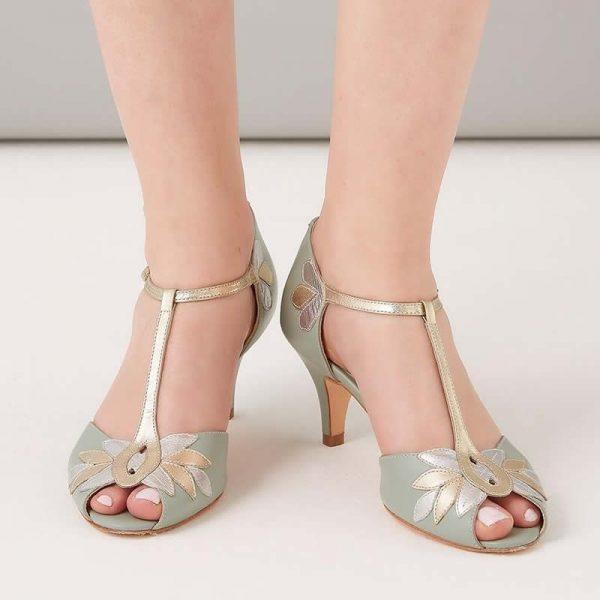 Zapatos de Novia Isla Menta